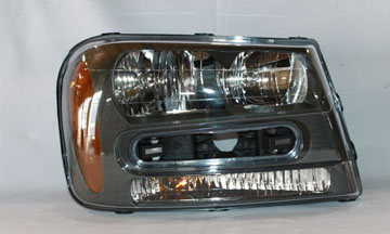 Aftermarket HEADLIGHTS for CHEVROLET - TRAILBLAZER, TRAILBLAZER,02-9,RIGHT HANDSIDE HEADLIGHT