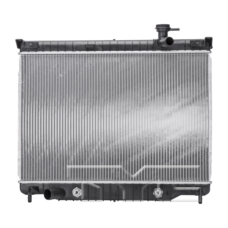 Aftermarket RADIATORS for BUICK - RAINIER, TRAILBLAZER,02-9,RADIATOR 4.2