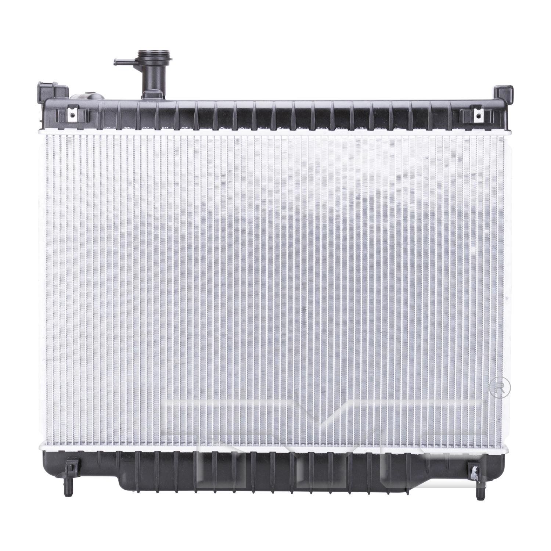 Aftermarket RADIATORS for BUICK - RAINIER, TRAILBLAZER,02-7,RADIATOR 5.3